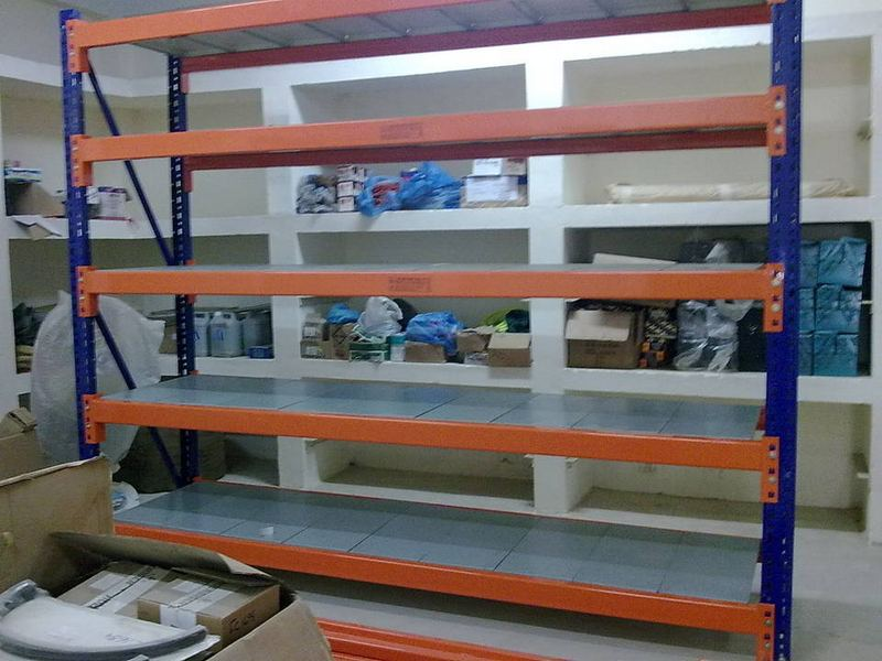Heavy Duty Rack with Shelves